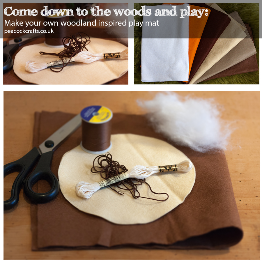Woodland Play Mat Materials